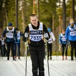 Skiing 90 km - Henrik Dalengren (7935)