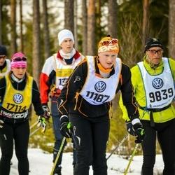Skiing 90 km - Harald Schaffer (9839), Ain Allas (11187)