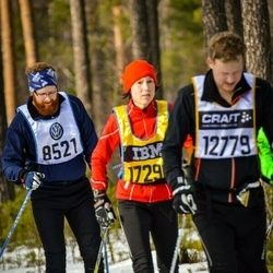 Skiing 90 km - Andreas Bylund (8521), David Berglund (12779)