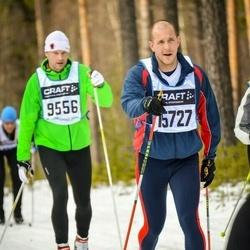 Skiing 90 km - Andreas Ekdahl (9556), Daniel Lamain (15727)