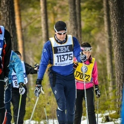 Skiing 90 km - Henrik Sundqvist (11375)