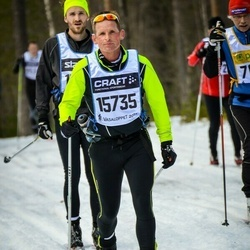 Skiing 90 km - Ed Janssens (15735)
