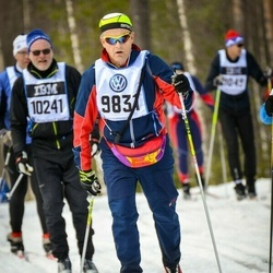 Skiing 90 km - Alf Renvall (9831)