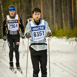 Skiing 90 km - Banke Andersson (8351)