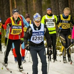 Skiing 90 km - Henrik Andersson (8229), Emma Fransson (18805)