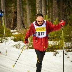 Skiing 90 km - Hugues Bissat (8817)