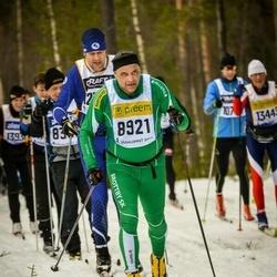 Skiing 90 km - Björn Thorén (8921)