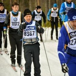 Skiing 90 km - Jan Huusman (8367), Henrik Carlsson (11172)