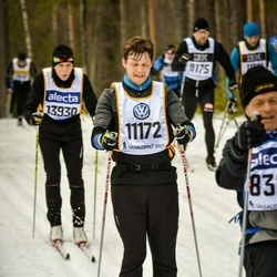 Skiing 90 km - Henrik Carlsson (11172)