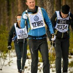 Skiing 90 km - Christian Houborg (12186), Jan Lehrmann (15334)
