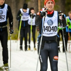 Skiing 90 km - Carl Bäckman (14040)