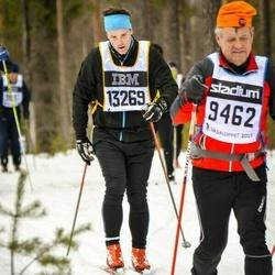 Skiing 90 km - Zdenko Sevcik (9462), Oscar Garpenholt (13269)