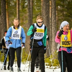 Skiing 90 km - Daniel Ohlson (13111), Kristoffer Schaumann (15501)