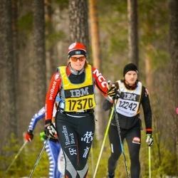 Skiing 90 km - Jenny Lundström (17370)