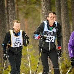 Skiing 90 km - Henrik Pihlemark (12112), Nils Knudsen (15302)
