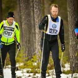 Skiing 90 km - Henrik Pihlemark (12112)