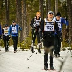 Skiing 90 km - Trond E Johannesen (10039), Anders Ahnesjö (11765), Mats Rosen (13288)