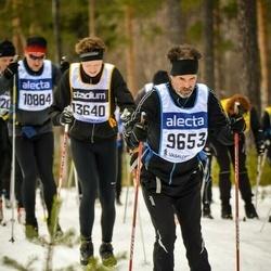 Skiing 90 km - Bo Westerdahl (9653), Henrik Larsson (13640)