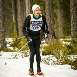 Skiing 90 km - Elias Bäckström (12669)