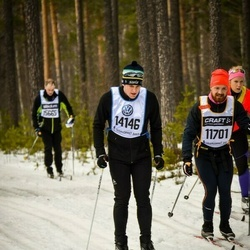 Skiing 90 km - Daniel Petrén (11701), Philip Overby (14146)