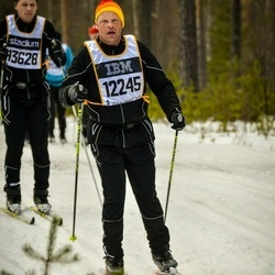 Skiing 90 km - Lars-Olof Frantzich (12245)