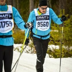 Skiing 90 km - Mirer Hanspeter (9560)