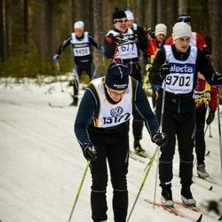 Skiing 90 km - Fredrik Falkenström (9702), Staffan Karlsson (13177)