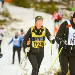Skiing 90 km - Lisa Höglund (17236)