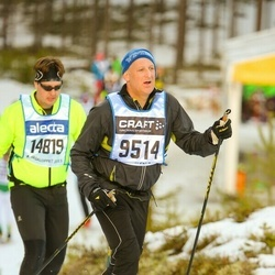 Skiing 90 km - Christian Fajers (9514)