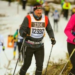 Skiing 90 km - Anders Jaensson (12392)