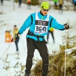 Skiing 90 km - Henrik Lineholm (8648)