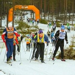Skiing 90 km - Magnus Sneen (6874), Viktoria Jacobsson (19255), Bent Galborgen (30093)