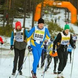 Skiing 90 km - Fred-Gunnar Alm (8880), Daniel Wendefors (12445), Christer Aronsson (13232)