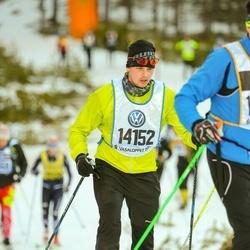 Skiing 90 km - Christoffer Gustafsson (14152)