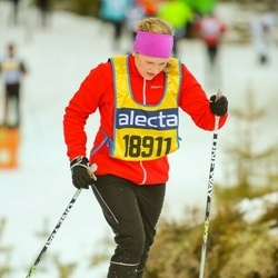Skiing 90 km - Christine Jaredsson (18911)