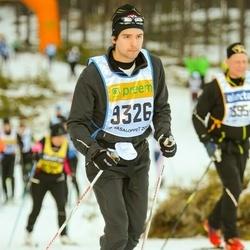 Skiing 90 km - Henrik Rydenfelt (9326)