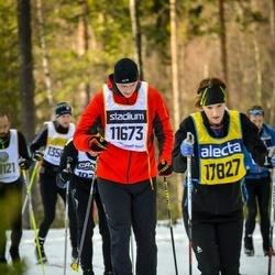 Skiing 90 km - Ivan Vrhel (11673), Katarina Röed (17827)