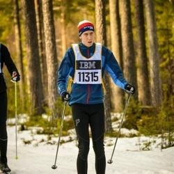 Skiing 90 km - Daniel Gustavsson (11315)