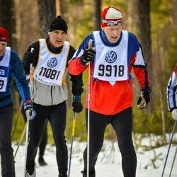 Skiing 90 km - Anders Hellsten (9918), Robert Lagerqvist (11081)