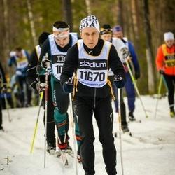 Skiing 90 km - Fredrik Merck (11670)