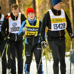 Skiing 90 km - Fredrik Danielsson (13005), Jan Persson (13428)
