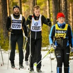 Skiing 90 km - Mathias Danielsson (12720), Fredrik Danielsson (13005)