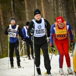 Skiing 90 km - Alex Sundstedt (15035), Bernt-Erik Persson (30006)