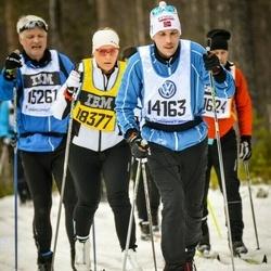 Skiing 90 km - Espen Johnsen (14163), Elin Malmqvist (18377)