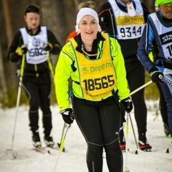Skiing 90 km - Natasha Chidekel Bergmann (18565)