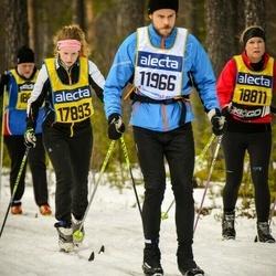 Skiing 90 km - Andreas Gustavsson (11966), Joanna Cederqvist (17893)