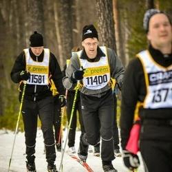 Skiing 90 km - Peter Johansson (11400), Patrik Axelsson (11581)