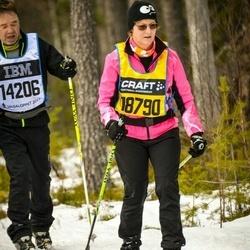 Skiing 90 km - Britt-Marie Enlund (18790)
