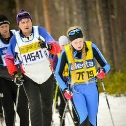 Skiing 90 km - Terje Huse (14541), Ida Danielsson (17819)