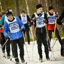 Skiing 90 km - Gustav Persson (11872), Henrik Mårald (13953)